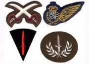 British Army Trade & Specialist Badges