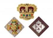 Embroidered Pips / Crowns