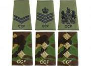 CCF Rank Slides and Epaulettes
