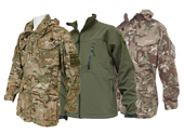 Military Jackets & Windproof Army Smocks