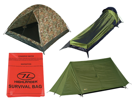 Survival Bags & Tents