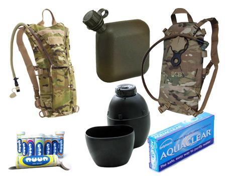 Camelbaks, Water & Hydration