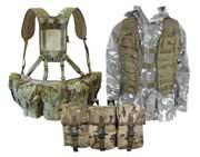 Webbing, Assault Vests & MOLLE Pouches