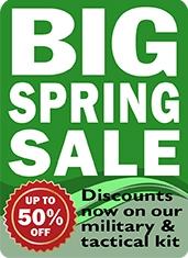 Big Spring Cadet Kit Sale