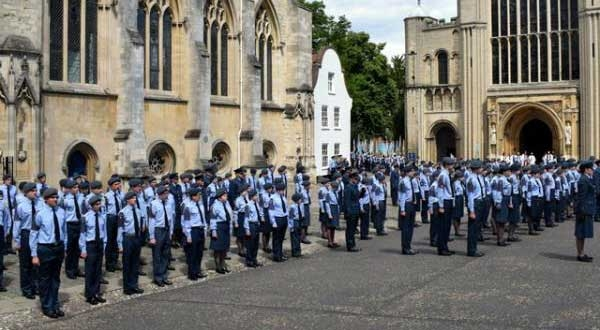 Air Cadet Church Parade