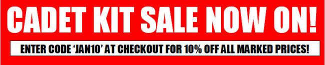 Cadet Kit Sale | Cadet Direct