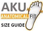 AKU Size Guide
