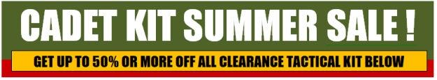 Cadet Kit Summer Sale