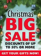 Big Christmas Sale Now On!