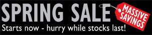 Spring Sale   Cadet Direct